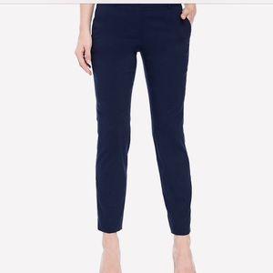 Michael Kors Straight Leg Work Trouser Pant Navy